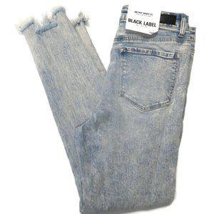 Black Label Jeans Womens 13 / 30 Acid Wash Skinny